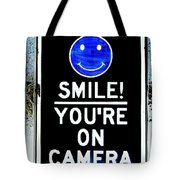 You're On Camera Tote Bag