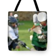 Youth Lacrosse Tote Bag