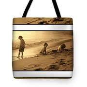 Youth Tryptich Tote Bag