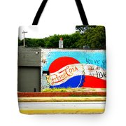 You've Got A Life To Live Pepsi Cola Wall Mural Tote Bag