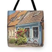 Ystad Cottages Tote Bag