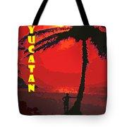 Yucatan Caribbean Tote Bag
