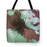 Yucca Abstract Sage And Mauve Tote Bag