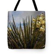 Yucca Blooms Tote Bag