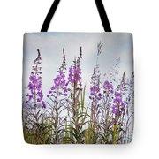Yukon State Flower Tote Bag
