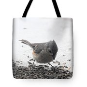 Yummy Sunflower Seeds Tote Bag