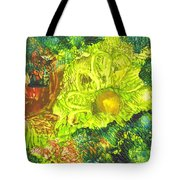 Yupo Flower2 Tote Bag