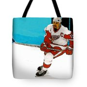 Yzerman Stick Tote Bag