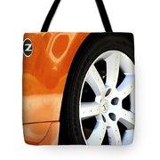 Z Emblem Wheel Tote Bag