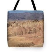 Zabriskie Point Panorama Tote Bag