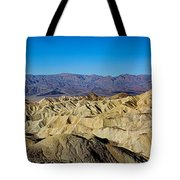 Zabriskie Point Panoramic Tote Bag
