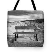 Zabriskie's Bench Tote Bag