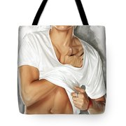 Zac Efron Artwork Tote Bag