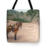 Zachary The Mule Tote Bag