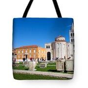 Zadar Historic Architecture Tote Bag