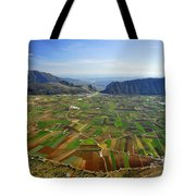 Zafarralla From The Air Tote Bag