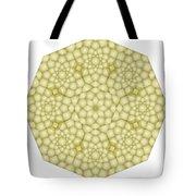 Zawiyah Muqarna Cream Tote Bag
