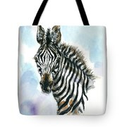 Zebra 1 Tote Bag