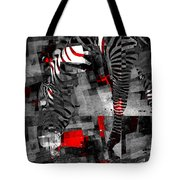 Zebra Art - 56a Tote Bag