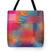 Zebra Art - Mtc077b Tote Bag