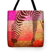 Zebra Art - T1cv2blinb Tote Bag