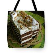 Zebra Cake Tote Bag