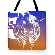 Zebra Crossing V6 Tote Bag