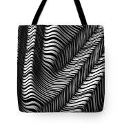 Zebra Folds Tote Bag