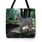 Zebra Forest 2 Tote Bag