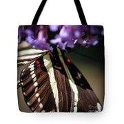 Zebra Heliconian Heliconius Charithonia Tote Bag
