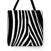 Zebra Hide Tote Bag