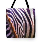 Zebra Lines Tote Bag