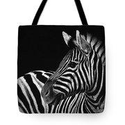 Zebra No. 3 Tote Bag