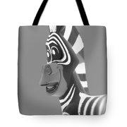 Zebra O Tote Bag