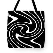 Zebra Pattern Tote Bag by Lali Kacharava