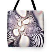 Zebra Phantasm Tote Bag