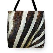 Zebra Texture Tote Bag by Ayse Deniz