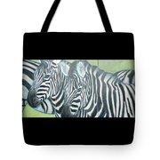 Zebra Triptych General Tote Bag