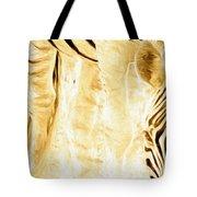 Zebra Up Closer Tote Bag