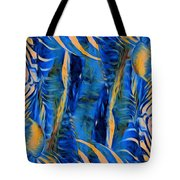 Zebras Abstracted Tote Bag