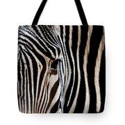 Zebras Face To Face Tote Bag