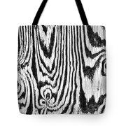 Zebras In Wood Tote Bag