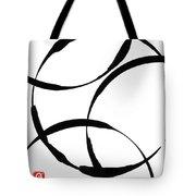 Zen Circles Tote Bag