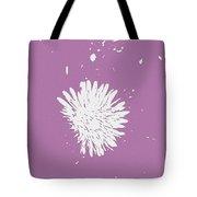 Dandelion In Love Tote Bag
