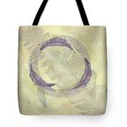 Zen Feather Circle I I I Tote Bag