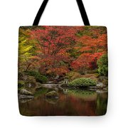 Zen Garden Reflected Tote Bag