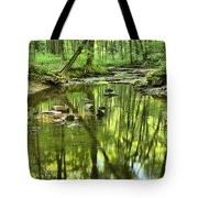 Zen In The Forest Tote Bag by Adam Jewell