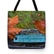 Zen Inner Peace Tote Bag