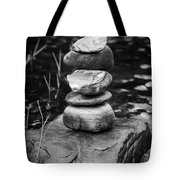 Zen River Vii Tote Bag