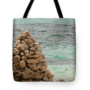 Zen Rocks In Paradise Tote Bag